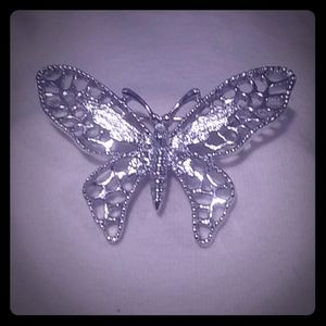 Vintage Silver Toned Brooche